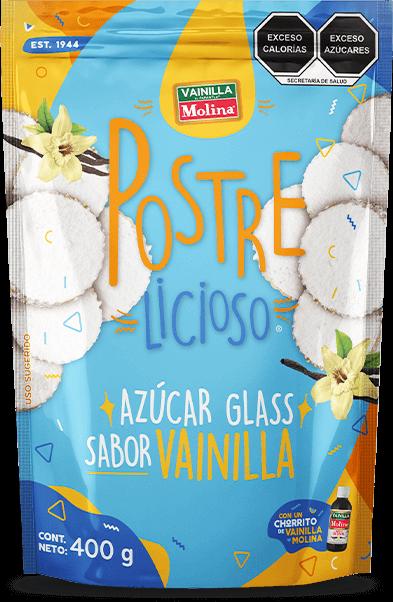 Postrelicioso® Azúcar Glass Sabor  Vainilla